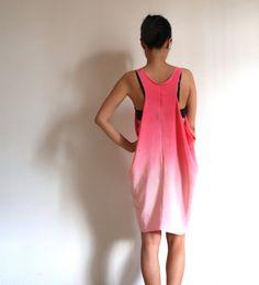 Ombre Silk Dress Hand dyed  Sakura by XSILK on Etsy, $168.00