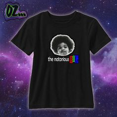 NOTORIOUS BIG 90s Hip Hop shirt  Toddler by OzzmosisCustomized