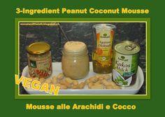 Peanut Coconut Mousse - VEGAN - Mousse alle Arachidi e Cocco