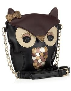 Owl purse need!!!!                                                             found similar purse at Burkes outlet store 10/7/13