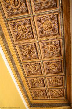Ceiling of a loggia, Casa de Pilatos, Seville