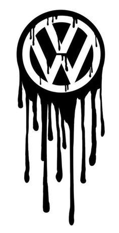 Awesome Volkswagen 2017: Volkswagen logo bleeding (by Greenbob1986)... The Volks Folks