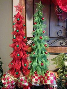 Savvy Seasons by Liz  Ross, Marshalls, or TJ Maxx for the trees