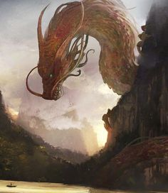 "thecollectibles: "" Chinese Dragon by Julien Gauthier "" #InspirationalCreatures"
