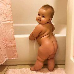 Cute chubby baby