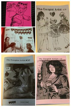 The Escapist Artist ZINE PACK SIX by Jolie Ruin on Etsy