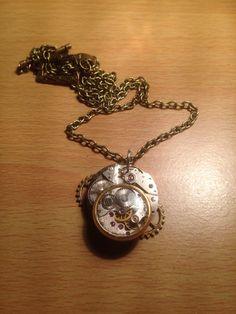 STEAMPUNK (Clockwork) Pendant on Etsy, £15.99