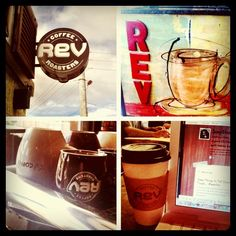 One of my favorite local coffee shops :)  http://revcoffee.com