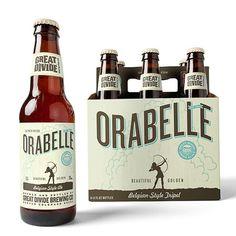 Great Divide Orabelle Packaging. Design by Cultivator.