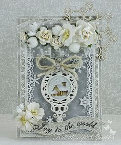 Live & Love Crafts' Inspiration and Challenge Blog: Joy to the World