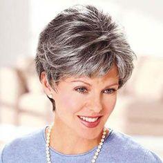 New Hair Highlights Grey Salts 20 Ideas Hair Styles For Women Over 50, Short Hair Cuts For Women, Short Hairstyles For Women, Trendy Hairstyles, Short Haircuts, Layered Haircuts, Hairstyles 2018, Popular Haircuts, Hair Dos