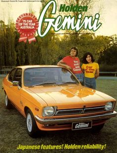 The Holden Gemini could hardly have been more representative of its time. Launched in mid-1975, here was a rebadged Isuzu that Holden needed to regain some market share against the Toyota, Mazda & Nissan invasion of small, modern, well built cars...