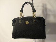 New Handbag Tommy Hilfiger Purse Bowler Color Black Style 6926620 990 #TommyHilfiger #Bowler