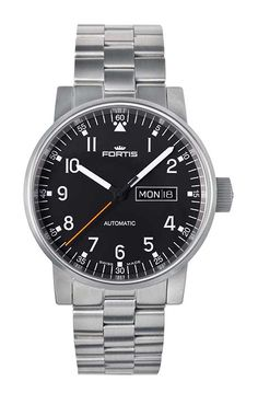 Fortis Spacematic Pilot Professional (40mm, £1000)