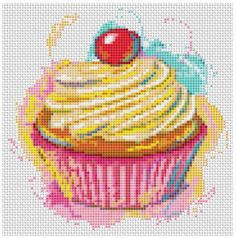 Cross Stitch Craze: Mini Yummy Treat Chart Kits by Kitchen Series