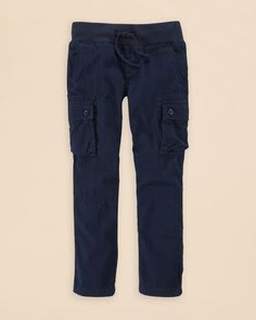 Ralph Lauren Childrenswear Boys' Canvas Cargo Pants - Sizes 2-7