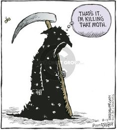 The Grim Reaper Comics And Cartoons | The Cartoonist Group