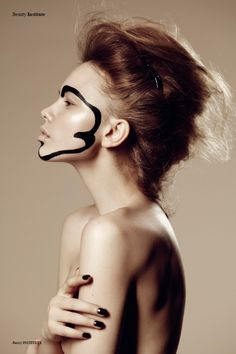 Paint It Black - Photographed by Lina Tesch http://institutemag.com/2012/07/07/paint-it-black/