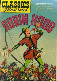 e Chitrakatha: Classics Illustrated - Robin Hood
