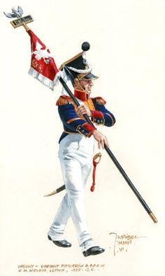 4 Infantry Regiment-Porte-aigle