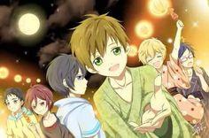 Free! Makoto, Haru, Nagisa, Rin, Rei and Sosuke