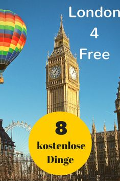 Billig nach London zu kommen, ist heute kein Problem mehr, vor Ort jedoch günstige oder kostenlose Aktivitäten zu finden schon eher. Im verlinkten Artikel findet ihr 8 Dinge, die in der britischen Hauptstadt absolut nichts kosten --->http://www.reiseuhu.de/?p=993 #London #4free #Reise
