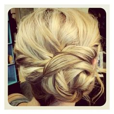 Hair Beauty <3 found on Polyvore.   Beautiful for prom...........