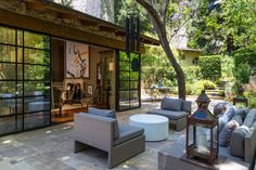 Country Style Outdoor Terrace Patio