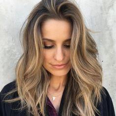 Hazelnut Hair - Low Maintenance Hair Color Ideas For Lazy Girls - Photos