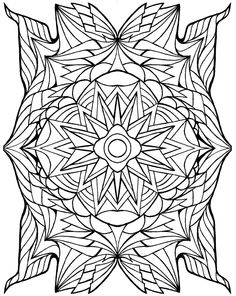 coloring pages Crest by BrokenCrayonWorks on Etsy