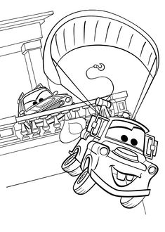 mater cars 2 coloring pages for kids printable free - Cars 2 Printable Coloring Pages