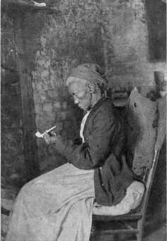 """Aunt Lucy"" oldest of the former slaves living at the Hermitage plantation   ca. 1915"