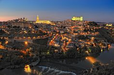 Toledo - Spain  Place of one of largest Catholic churches in the world.  Spectacular place.