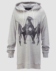 Chiroptera Hoodie, Drop Dead Clothing