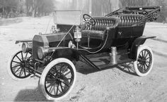 Ford Model T 1910 - The first cabriolet, Thanks Mr. Ford.