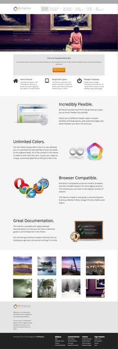 Brilliance Multipurpose #WordPress #Business Theme - www.wpchats.com
