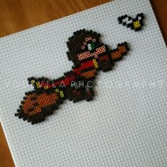 Harry Potter quidditch - Hama (perler) beads, by Vodevila
