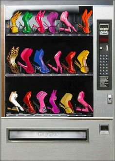 Designer Shoe Vending Machine for High Heels