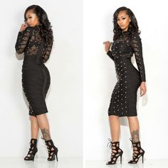 Check out this updated twist on the classic little black dress! www.bit.ly/1MxktlT