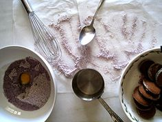 Ube recipes for the mix (and also red velvet and green tea)