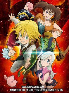 Nanatsu no Taizai Episodes 480p 60MB   720p 110MB MKV