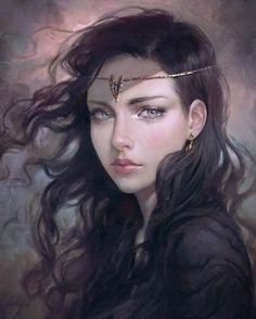 Fantasy Girl, Fantasy Women, Fantasy Princess, Elven Princess, Fantasy Artwork, Character Portraits, Character Art, Character Concept, Fantasy Characters