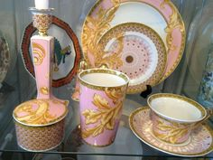 Versace Byzantine Dreams China by Rosenthal in pink