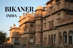 Bikaner, #India Bikaner city is the administrative headquarters of #Bikaner district and also one of the #Rajasthan #tourist places.