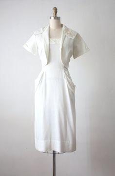 Mitternacht Mond Kleid / 1950er Jahre wackeln Kleid von 1919vintage