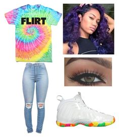 """""""Gay pride parade"""" by brejeasmith ❤ liked on Polyvore featuring NIKE"""