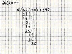 Delen 5 - Eenvoudige staartdeling zonder rest
