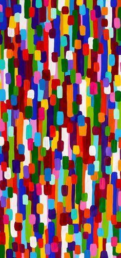 Aboriginal Artwork, Pattern And Decoration, Australian Art, Diy Canvas, Native Art, Color Shades, Diy Painting, Fabric Design, Print Patterns