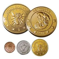 Wizarding currency Harry-potter-gringotts-bank-coin-collection-by-noble-collection-collectibles-us Wiki Harry Potter, Harry Potter Coins, Magie Harry Potter, Harry Potter Fiesta, Harry Potter Monopoly, Classe Harry Potter, Deco Harry Potter, Harry Potter Classroom, Theme Harry Potter