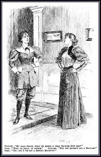 Faith Punch 1895 - History of the bicycle Wikipedia, the free encyclopedia Retro Rack: Spot the outfit in the book! Clothing Featured in How to Marry a Werewolf: Hats, Dresses and Men in Uniform by Gail Carriger Edwardian Era, Victorian Era, Victorian Fashion, Vintage Fashion, Victorian Women, Victorian London, Victorian Dresses, Edwardian Dress, French Fashion